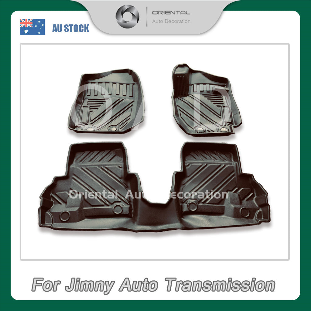 Pre-order Premium Custom 3D Floor Mats for Suzuki Jimny Auto Transmission 18- model Car Mats #CH