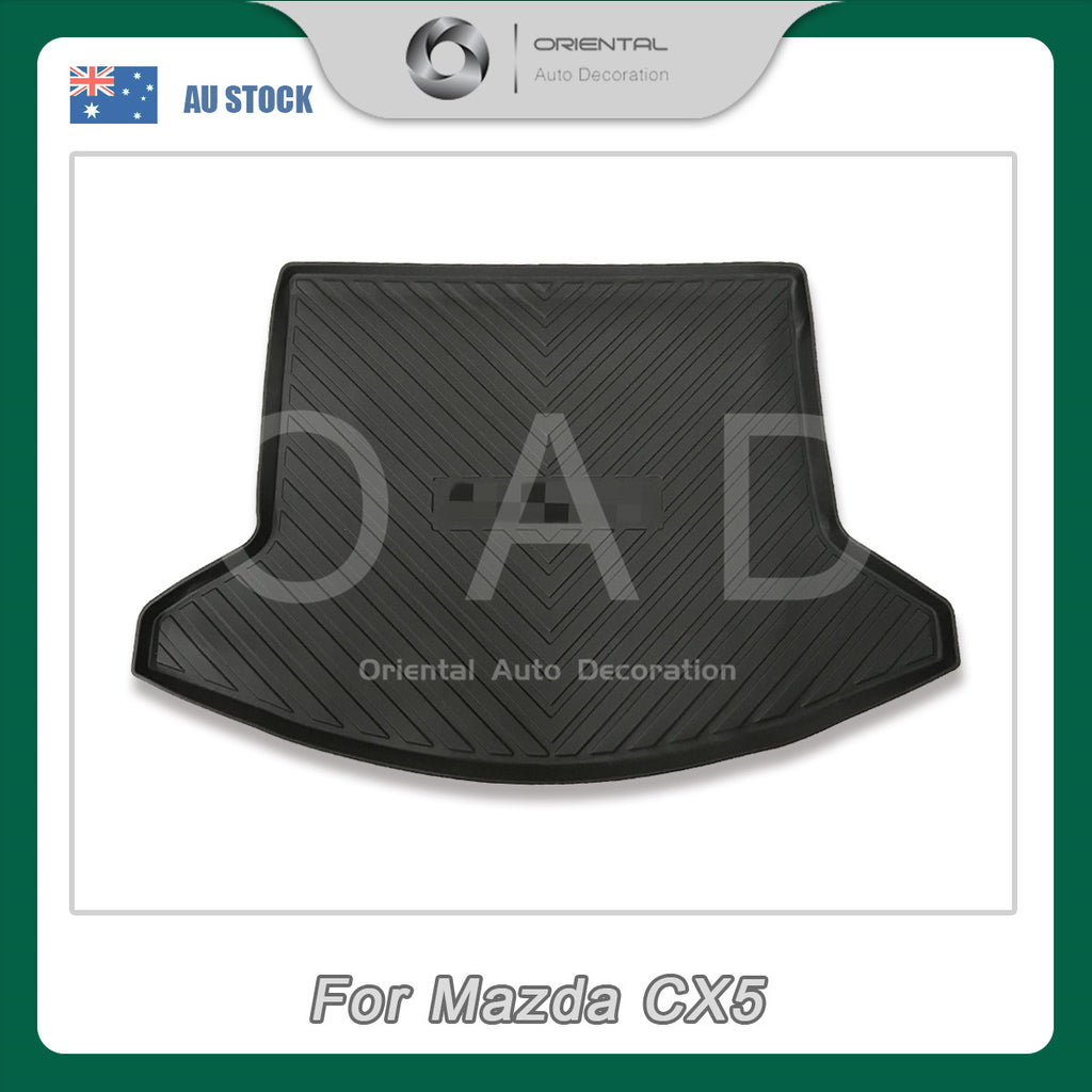 Injection Weather shields Weathershields window visor & 3D TPO cargo mat for Mazda CX-5 CX5 17+