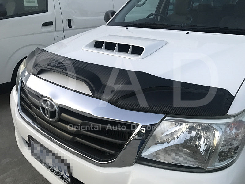 Injection Exclusive Two-Piece Detachable Bonnet Protector for Toyota Hilux 11-15