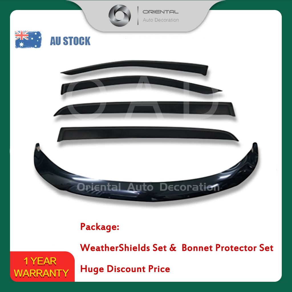 Bonnet Protector & Weathershields Weather shields window visor for Holden NEW Trailblazer 2016+ #BC