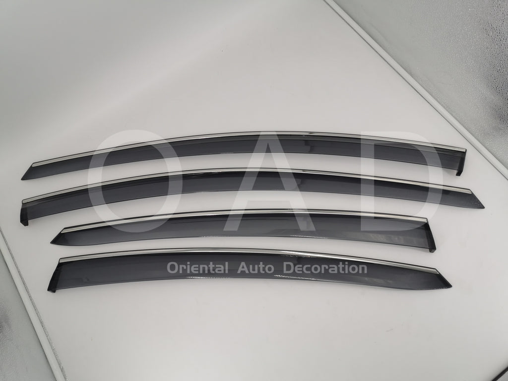 Injection Stainless weathershields weather shields window visor For Hyundai Elantra MD 11-15 model T