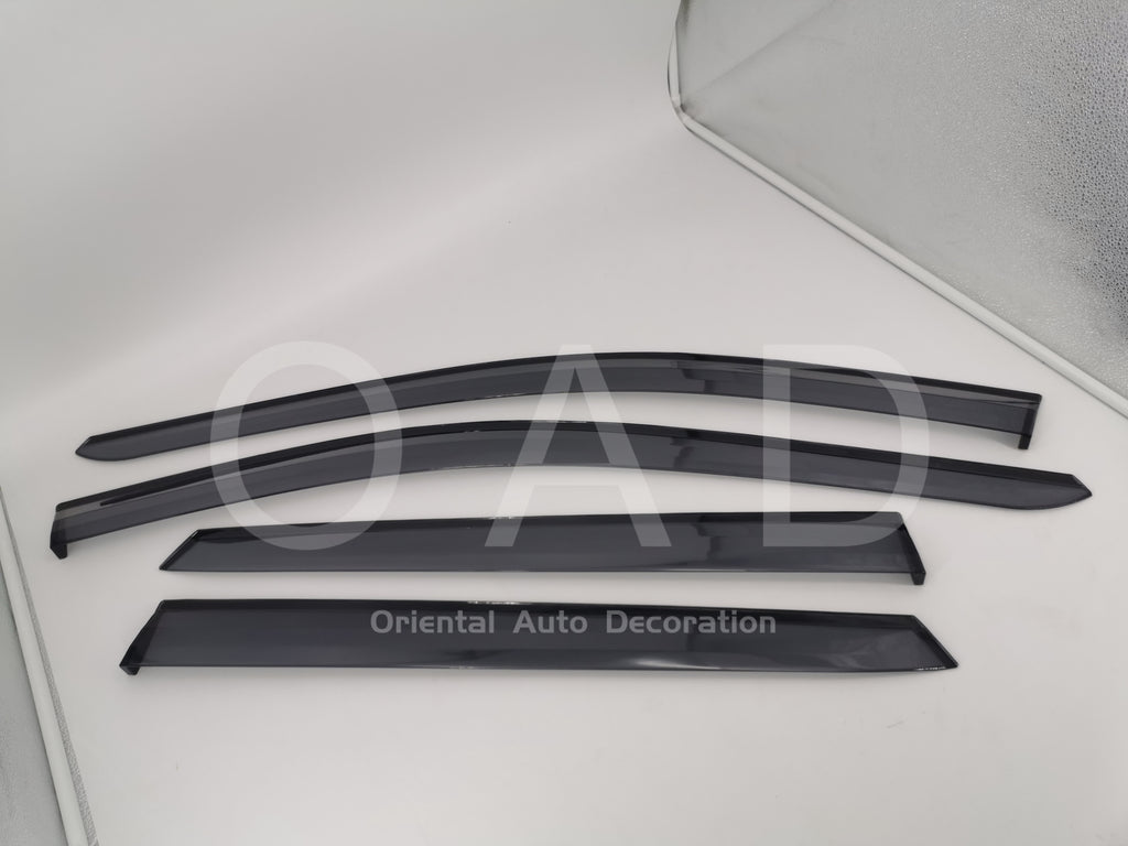 Original Injection weathershields weather shields window visor For Hyundai Santa Fe 12-18 model