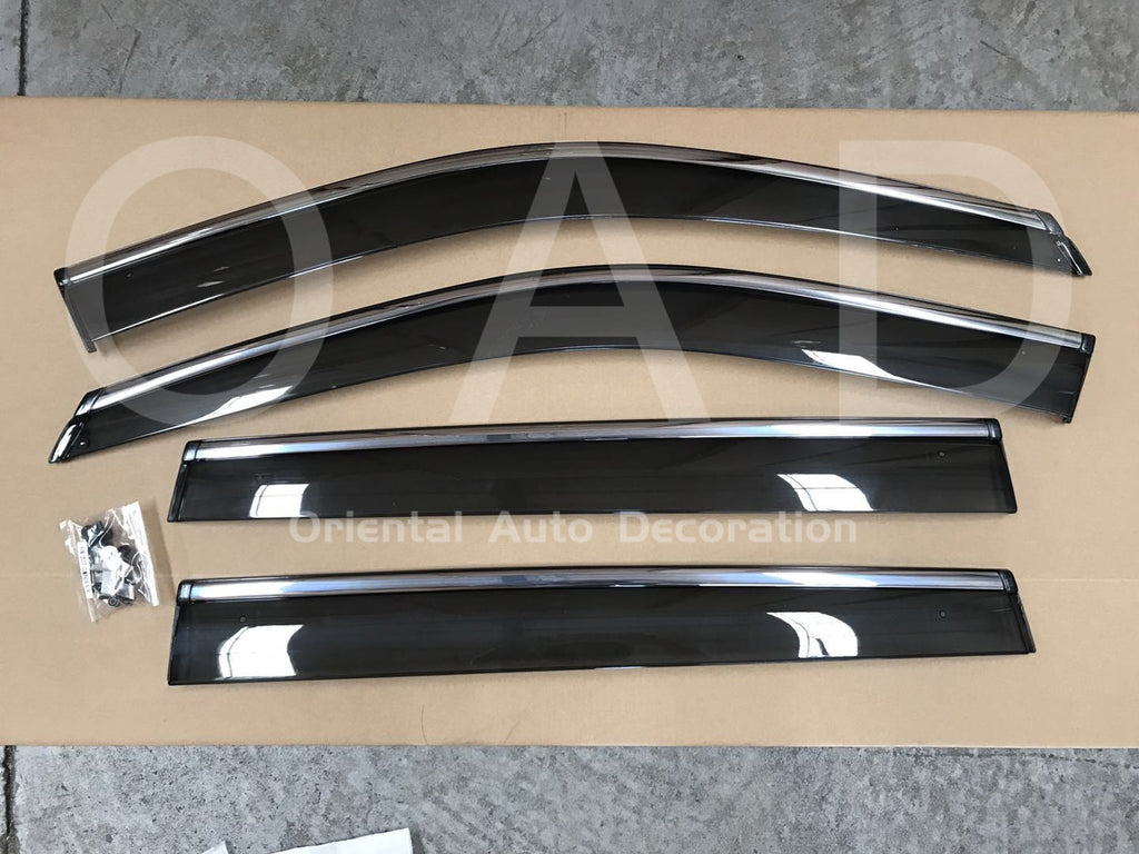 Injection weathershields weather shields window visor For Jeep Compass M6 17+ model K