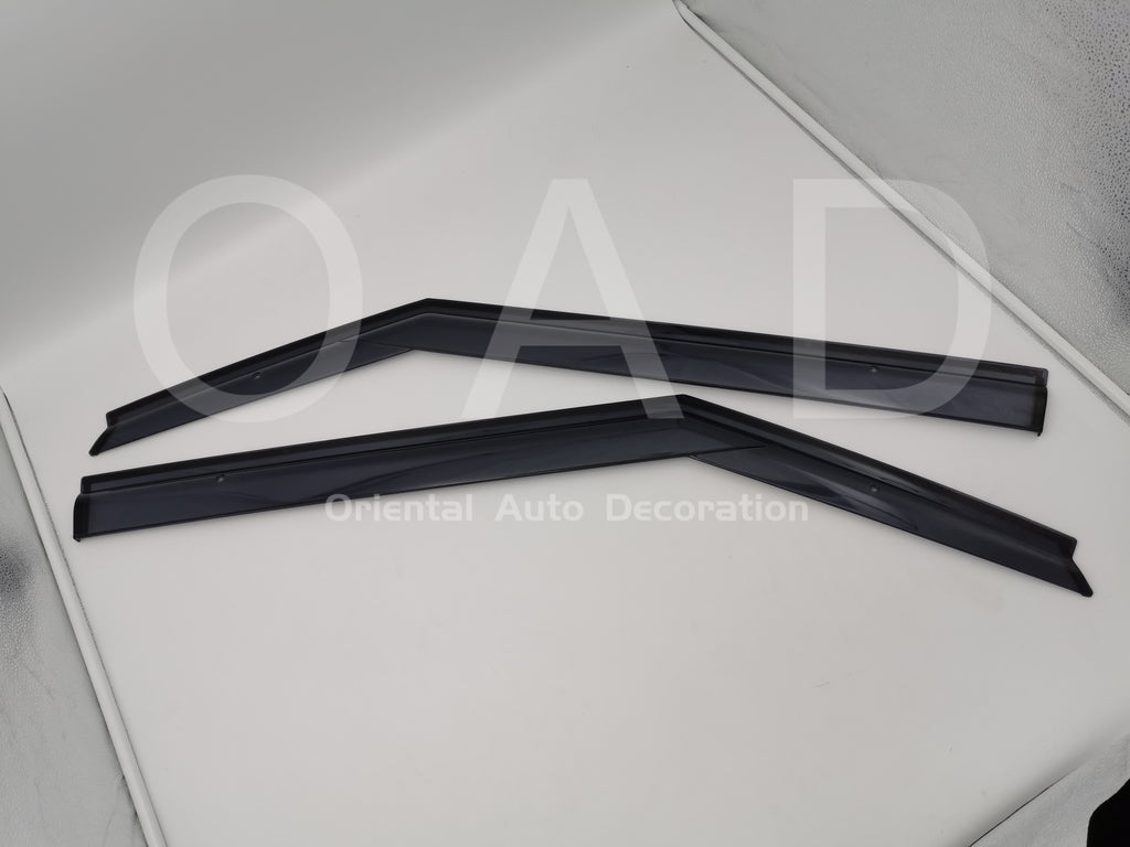 Injection weathershields weather shields window visor For Land Rover Evoque 3D 11-18 model