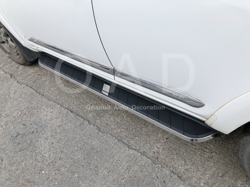 Black Aluminum Side Steps/Running Board For Nissan X-Trail XTRAIL T32 13-19 #MC