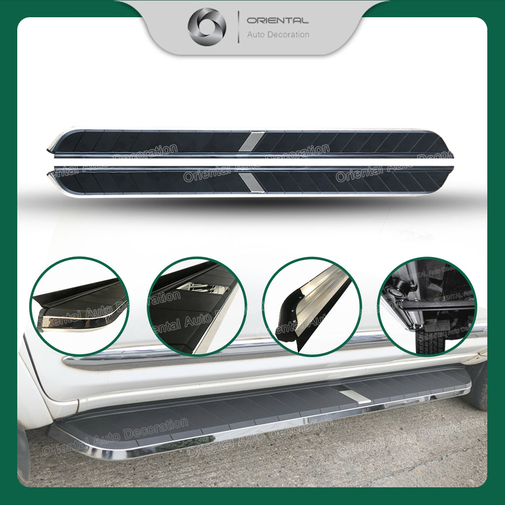 Black Aluminum Side Steps/Running Board For Great Wall HAVAL H2 16+ model #MC