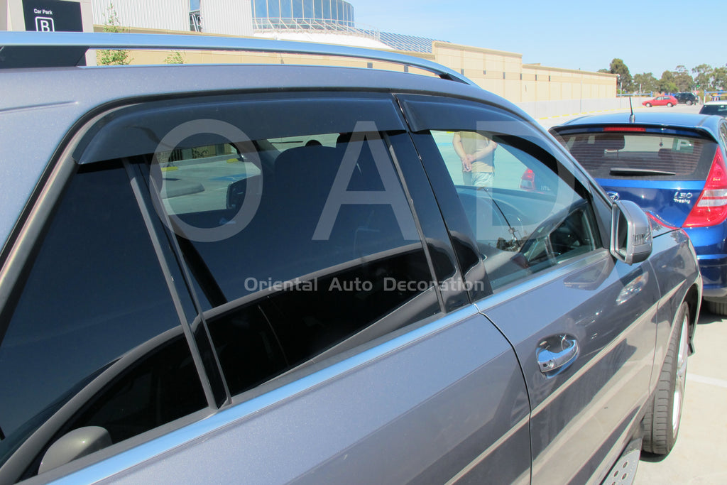 Premium weathershields weather shields window visor For Mercedes BENZ GLE 15-19 W166 model