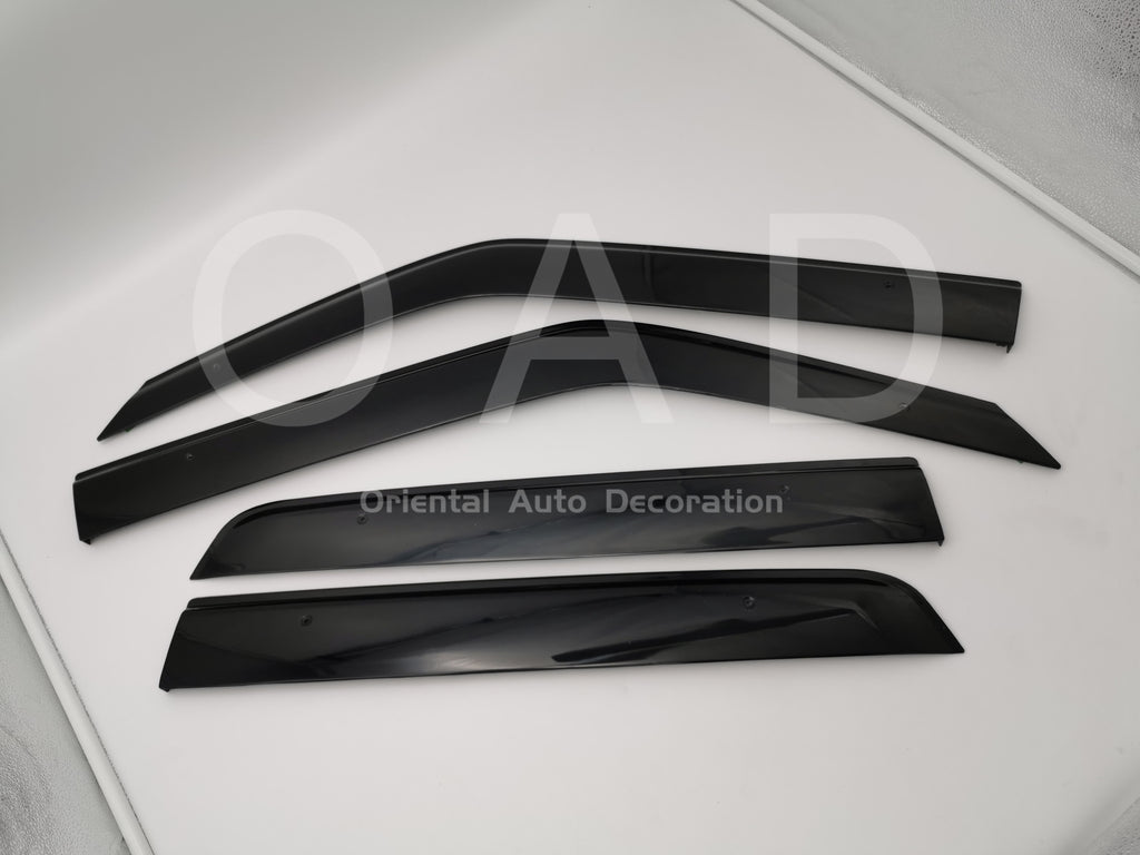 Original Injection weathershields weather shields window visor For Nissan Juke 13-20 model T