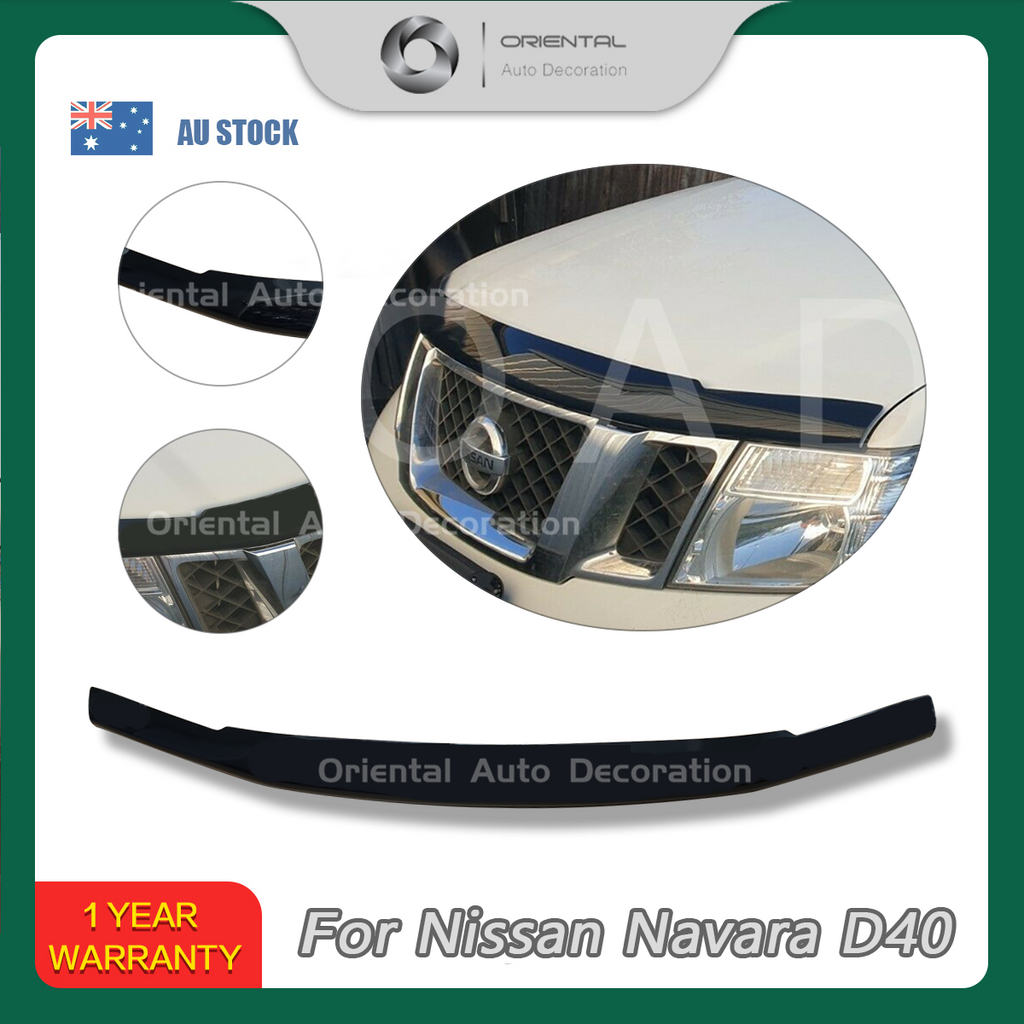 Bonnet Protector for Nissan Navara D40 11-15 Spanish Built model #BC