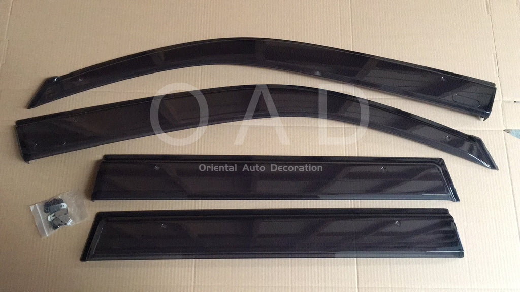 Original Injection weathershields weather shields window visor For Nissan X-Trail XTrail T31 07-13 model T