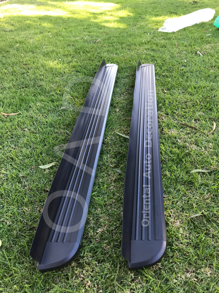 Black Aluminum Side Steps Running Board For NEW Mazda KF Series CX5 17-19 model #LP