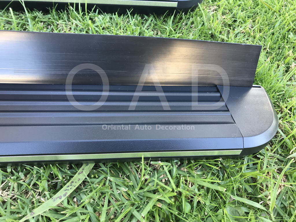 Black Aluminum Side Steps Running Board For Subaru Forester 08-12 S3 model #LP