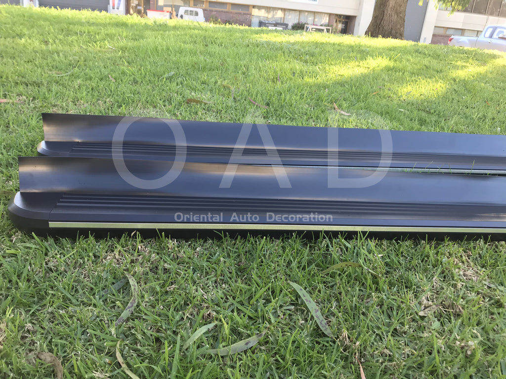 Black Aluminum Side Steps Running Board For KIA Sportage SL 10-15 model #LP