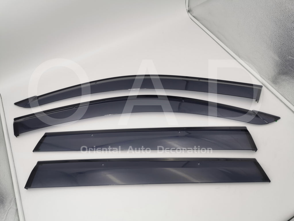 Original Injection weathershields weather shields window visor For Toyota RAV4 06-12 model T