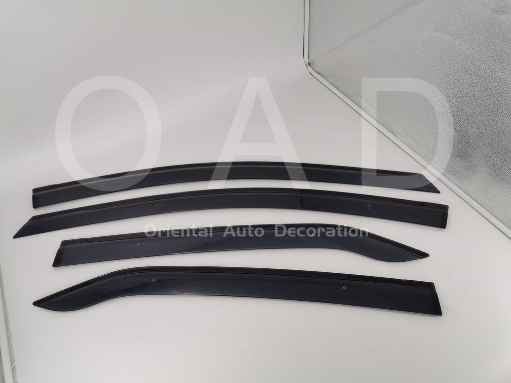 Original Injection weathershields weather shields window visor For Toyota Corolla sedan 13-19 model T