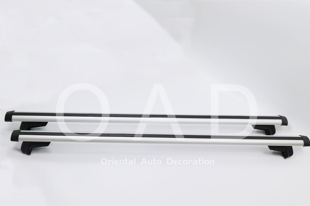 1 Pair Aluminum Silver Cross Bar Roof Racks Baggage holder for Benz ML Class ML280 with raised roof rail