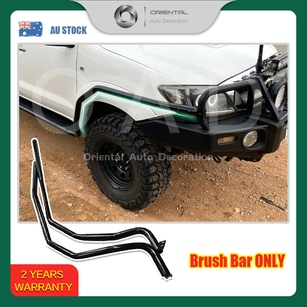 For Toyota Hilux Vigo Dual Cab 05-15 model Heavy Duty Steel Brush Bars