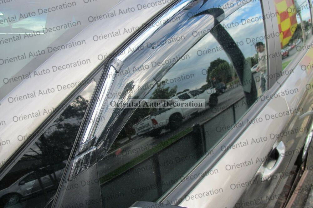 Injection weathershields weather shields window visor For KIA Rondo 13-18 model