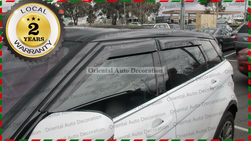 Premium weathershields weather shields window visor For Land Rover Evoque 11-18 model