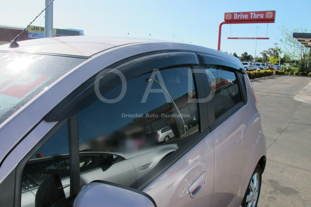 Premium weathershields weather shields window visor For Holden Barina Spark MJ series model