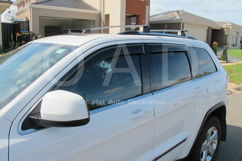 Bonnet Protector & Weathershields Weather shields window visor for Jeep Grand Cherokee 10+ #BC