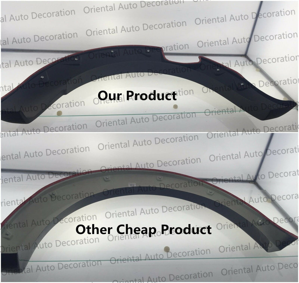 NEW Fender Flares Wheel Guard Arch Flares for Nissan NP300 D23 Dual Cab 15-18 Pick up only
