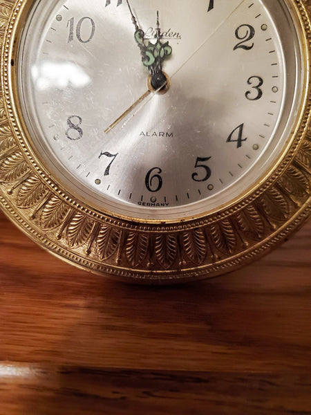 Vintage LINDEN alarm clock. Works perfectly. Made in GERMANY