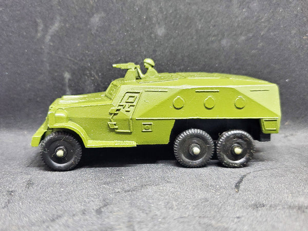 Vintage RUSSIAN USSR Diecast military vehicle.  BTR 152 WITH BOX