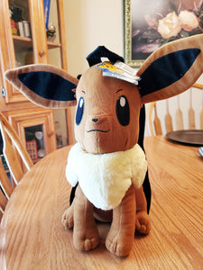 Pokemon Eevee Plush Backpack Back Pack Tote Bag by Nintendo