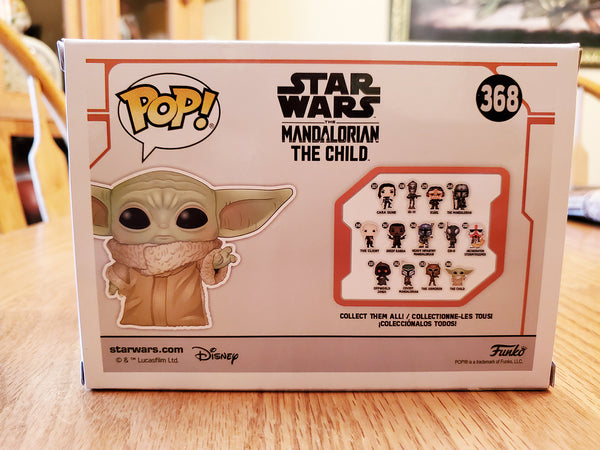 Funko Pop Star Wars The Mandalorian Baby Yoda The Child 368