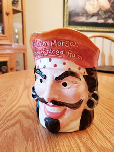 Captain Morgan Spiced Rum Figure Head Mug