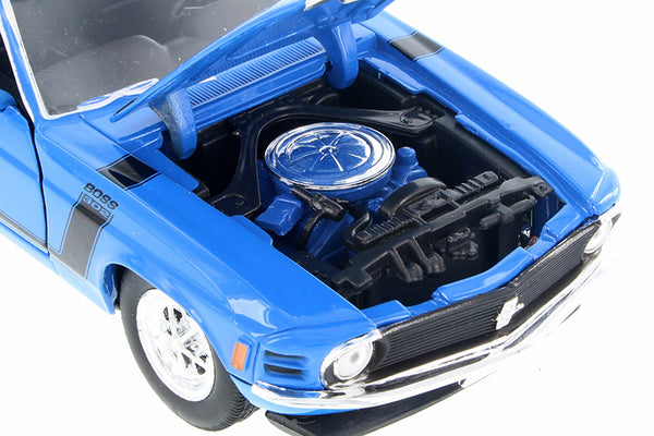 1970 Ford Mustang Boss 302 Hardtop 1:24 - Assorted colors