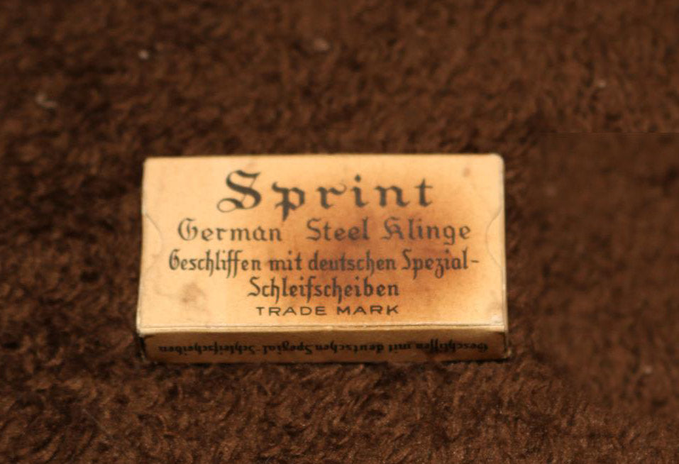 Sprint Klinge German steel razor blades