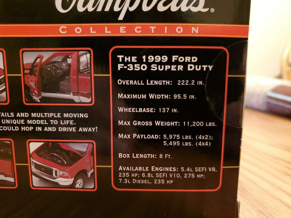 1/24 Matchbox Collectibles Campbells Soup Ford F-350 Super Duty Pickup 96626 NEW