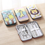 Load image into Gallery viewer, Cartoon Stainless Steel Home Pedicure Kit