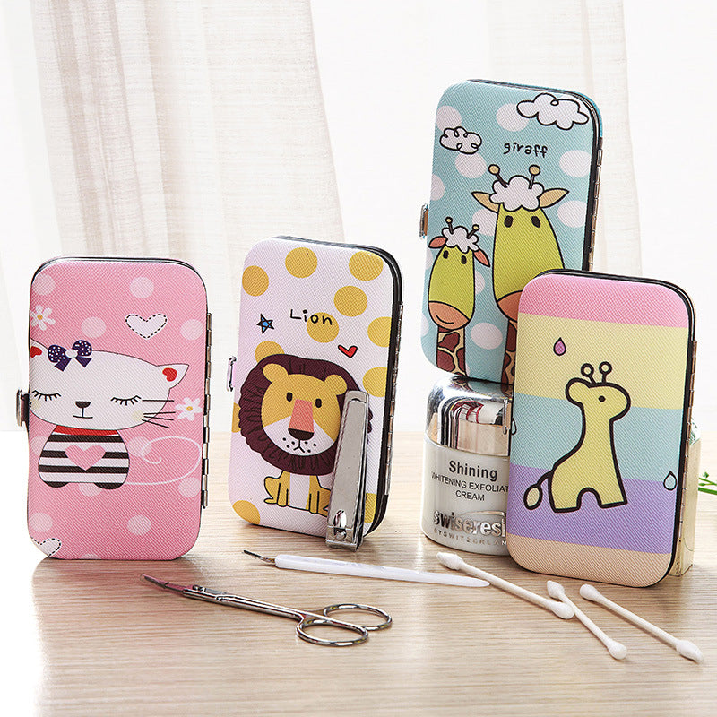 Cartoon Stainless Steel Home Pedicure Kit