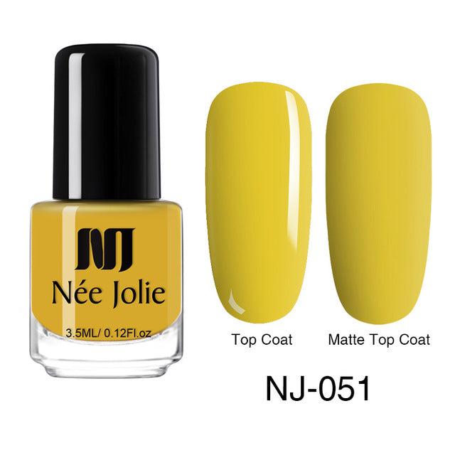 NEE JOLIE Solid Color Polish  3.5 ML