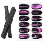 Load image into Gallery viewer, Multi-function 12 in 1 Magnetic Nail Art Stick 3D Cat Eyes
