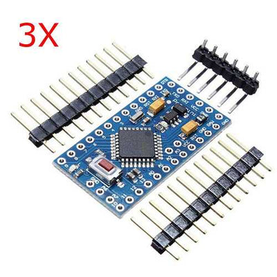 3Pcs ATMEGA328 328p 5V 16MHz Compatible Nano Size Module PCB Board Geekcreit for Arduino - products that work with official Arduino boards
