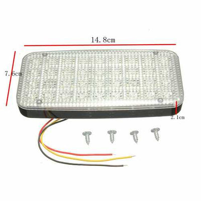 12V 36 LED Ceiling Dome Roof Interior Light White Lamp For  Car Auto Van Vehicle Truck Boat
