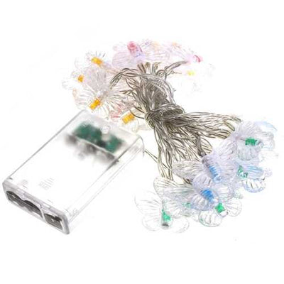 3M 30 LED Battery Powered Colorful Butterfly Fairy String Light Christmas Party Wedding Decor