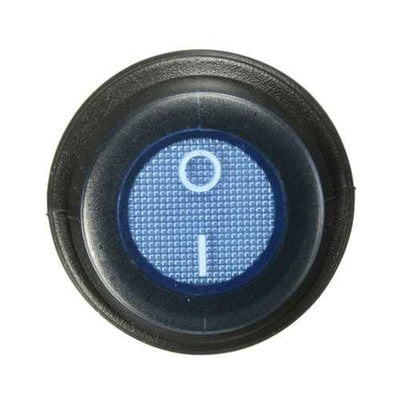 3-Pin SPST 12V 12A LED On/Off Rocker Switch Illuminated Waterproof