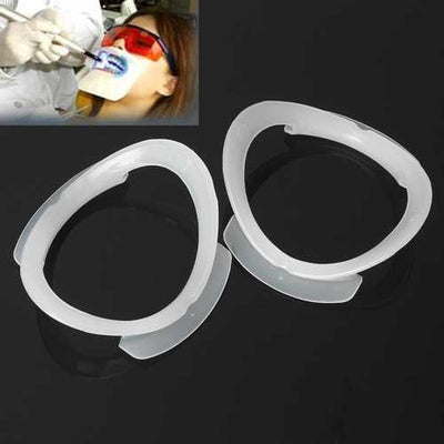4Pcs O Shape Orthodontics Dental Intraoral Cheek Retractor Teeth Lip Mouth Opener Expander