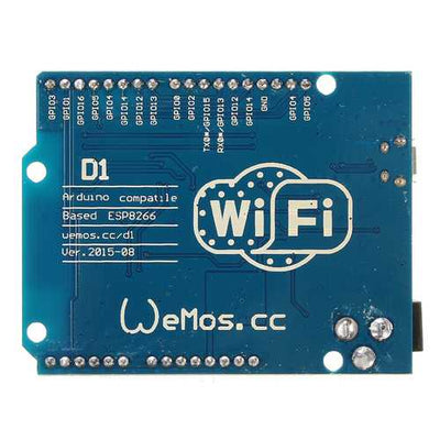 D1 WiFi UNO ESP-12E Based ESP8266 Module Geekcreit for Arduino - products that work with official Arduino boards