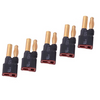 5Pcs T Female Plug Connector Turn to 4MM Banana Male For RC Models