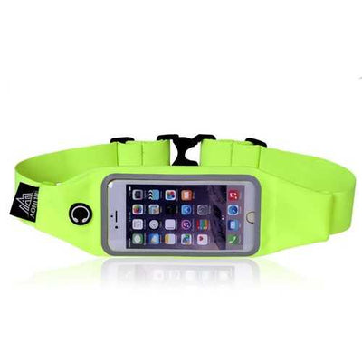 AONIJIE Sports Waist Belt Bag Pack 4.7/5.5 Inch Touch Screen Phone Case Holder Marathon Running