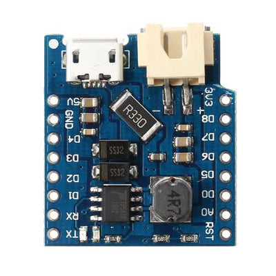 3pcs Geekcreit D1 Mini Single Lithium Battery Charging And Battery Boost Shield Board