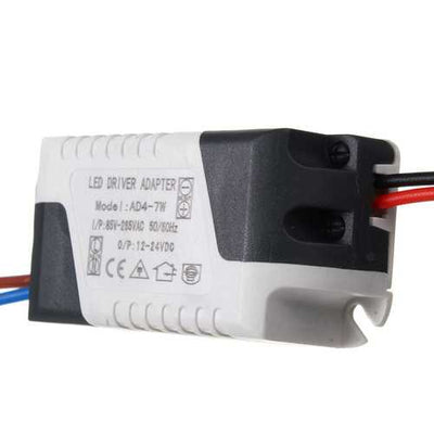 AC85-265V To DC12-24V 4-7W 300mA LED Light Lamp Driver Adapter Transformer Power Supply