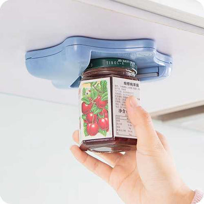 Creative Multifunction Hexagram Jar Opener  Professional Built-in Ergonomic Manual Can Opener