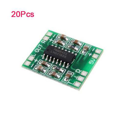 20Pcs PAM8403 Miniature Digital USB Power Amplifier Board 2.5V - 5V